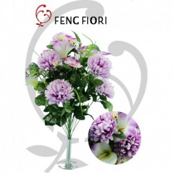 Bouquet crisantemi calle/orchidee 24F