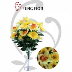 Bouquet gerbera/orchidea 24F