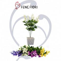 Mazzetto fiori albicocca